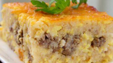 Southern Grits Casserole Recipe #southern #southerrecipe #southernrecipes #southerngrits #southerncasserole #gritscasserole #gritscasserolerecipe #casserolerecipe #recipes #cooking #recipesaz
