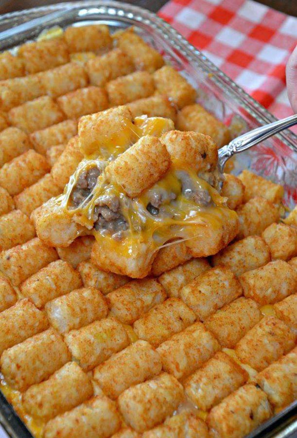 Tater Tot Casserole Recipe - Page 2 of 2 - Recipes A to Z