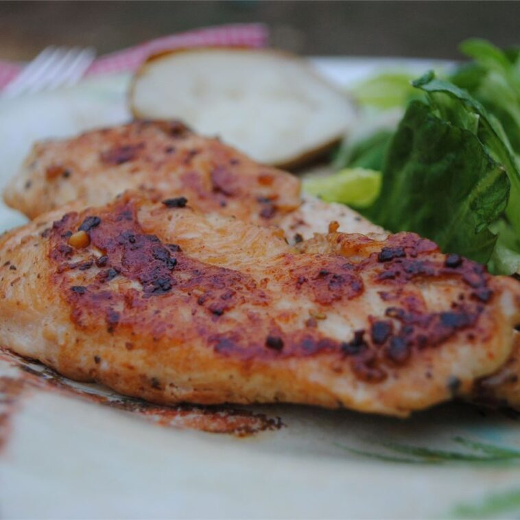 A Good Easy Garlic Chicken Recipe