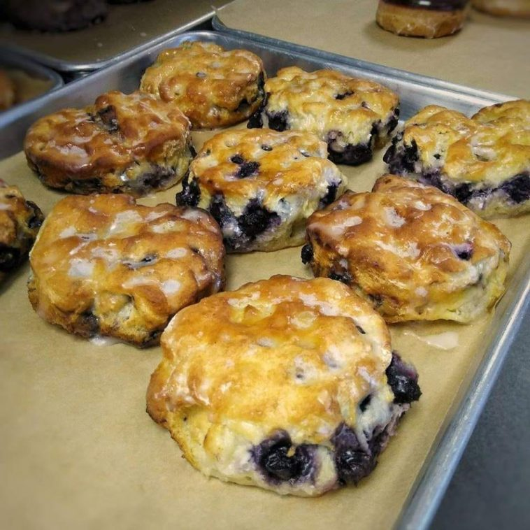 Blueberry Biscuits Recipe