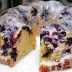 Blueberry Bundt Cake with Lemon Glaze Recipe