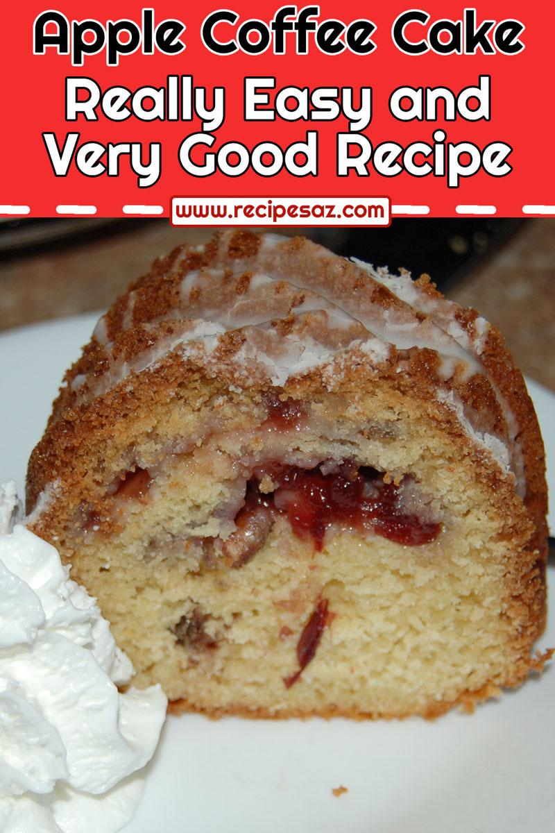 Cranberry Swirl Coffee Cake Recipe