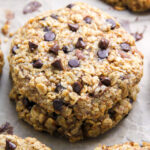 Forget The Banana Bread and Make Banana Oat Chocolate Chip Cookies