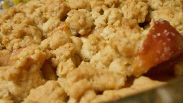 Oatmeal Cookie Apple Crisp recipe