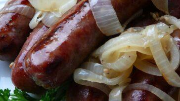 Sheboygan Grilled Brats Recipe