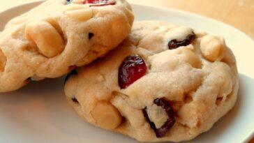 White Chocolate Macadamia Cranberry Dreams Recipe