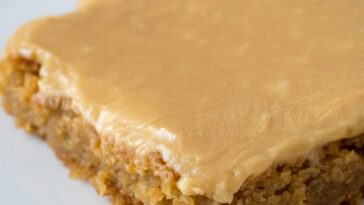 Peanut Butter Lunch Lady Cookie Bars Recipe