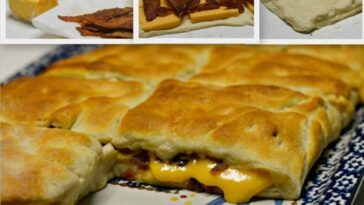 Stuffed Bacon and Cheese Biscuits Recipe