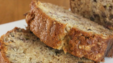 Yummy Banana Bread Recipe