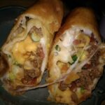 Beef and Cheese Chimichanga Recipe