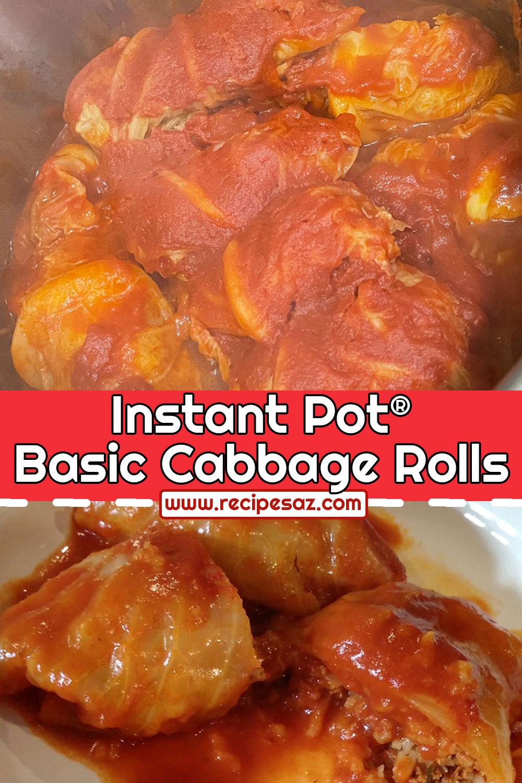 Instant Pot® Basic Cabbage Rolls Recipe